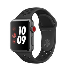 Apple Apple Watch Nike+ Series 3 GPS + Cellular - 38mm - Space Grey Aluminium Case with Anthracite/Black Nike Sport Band