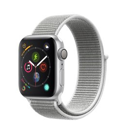 Apple Apple Watch Series 4 GPS, 40mm Silver Aluminium Case with Seashell Sport Loop