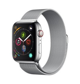 Apple Apple Watch Series 4 GPS + Cellular - 44mm - Stainless Steel Case with Milanese Loop