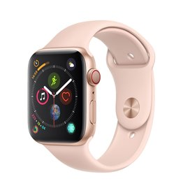 Apple Apple Watch Series 4 GPS + Cellular - 44mm - Gold Aluminium Case with Pink Sand Sport Band