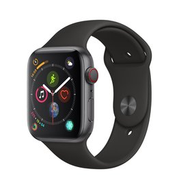Apple Apple Watch Series 4 GPS + Cellular - 44mm - Space Grey Aluminium Case with Black Sport Band