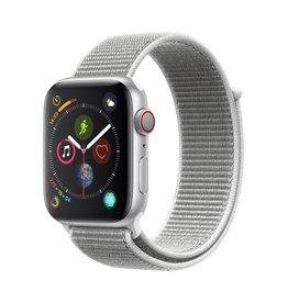 Apple Apple Watch Series 4 GPS + Cellular - 44mm - Silver Aluminium Case with Seashell Sport Loop