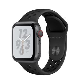 Apple Apple Watch Nike+ Series 4 GPS + Cellular - 40mm - Space Grey Aluminium Case with Anthracite/Black Nike Sport Band