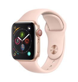 Apple Apple Watch Series 4 GPS + Cellular - 40mm - Gold Aluminium Case with Pink Sand Sport Band
