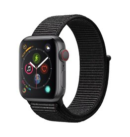 Apple Apple Watch Series 4 GPS + Cellular - 40mm - Space Grey Aluminium Case with Black Sport Loop