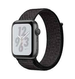 Apple Apple Watch Nike+ Series 4 GPS, 44mm Space Grey Aluminium Case with Black Nike Sport Loop