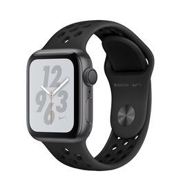 Apple Apple Watch Nike+ Series 4 GPS, 40mm Space Grey Aluminium Case with Anthracite/Black Nike Sport Band