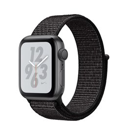 Apple Apple Watch Nike+ Series 4 GPS, 40mm Space Grey Aluminium Case with Black Nike Sport Loop