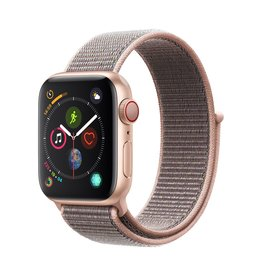 Apple Apple Watch Series 4 GPS + Cellular - 40mm - Gold Aluminium Case with Pink Sand Sport Loop
