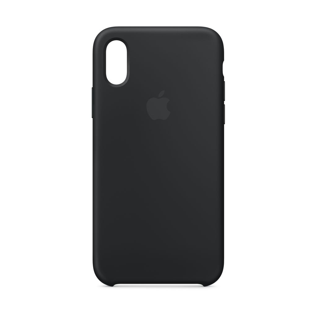 various colors d62ed 0902a Apple iPhone XS Silicone Case Black
