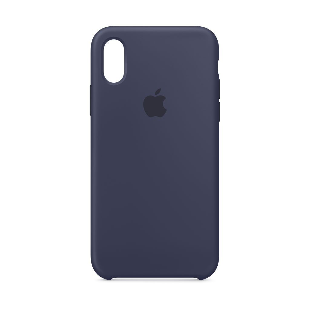 Apple Apple iPhone XS Silicone Case Midnight Blue