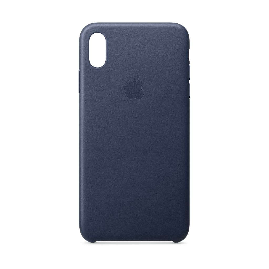 Apple Apple iPhone XS Max Leather Case Midnight Blue