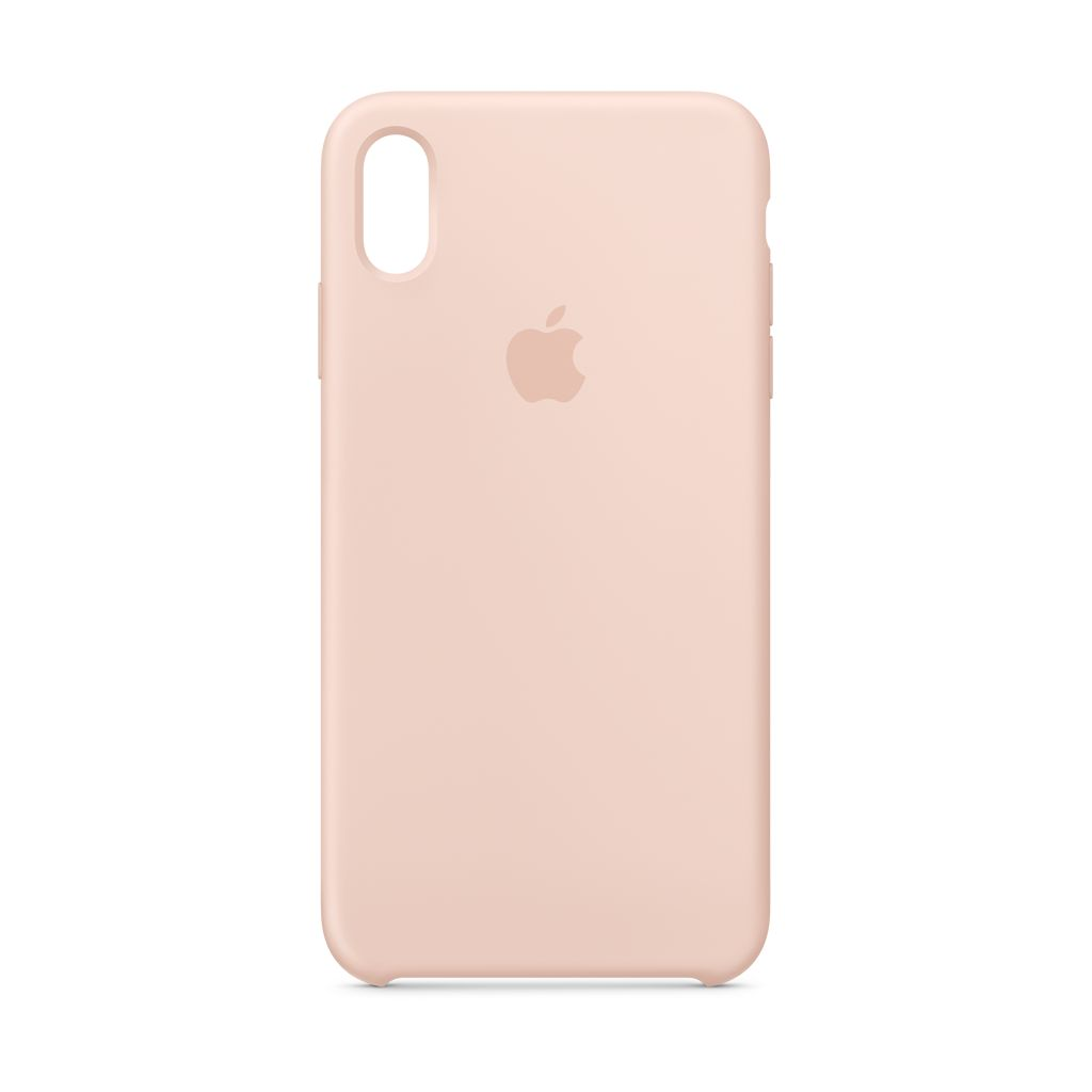 Apple Apple iPhone XS Max Silicone Case Pink Sand