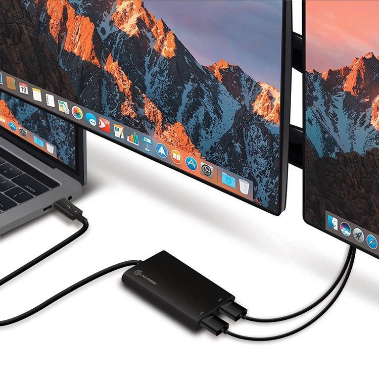 ALOGIC ALOGIC Thunderbolt 3 (USB-C) to Dual HDMI Adapter - 4k 60Hz