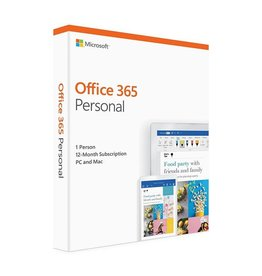 Microsoft Microsoft Office 365 Personal - 1 License - 1 Mac and 1 iPad- 1 year