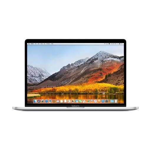 Apple 15-inch MacBook Pro with Touch Bar - 2.6GHz 6-core  i7 / 256GB / 16GB RAM / Radeon Pro 555X 4GB - Silver