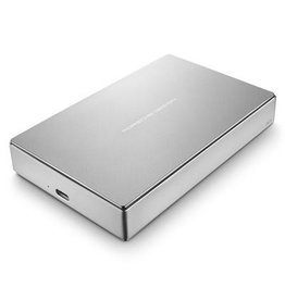 Lacie Lacie 4TB Porsche Design USB-C 3.0 (inc. USB adapter) Portable Hard Drive