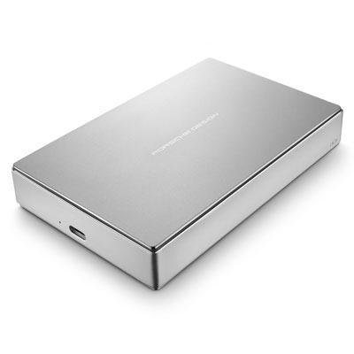 Lacie Lacie 4TB Porsche Design USB-C 3.0 (inc. USB adapter) Portable Hard Drive