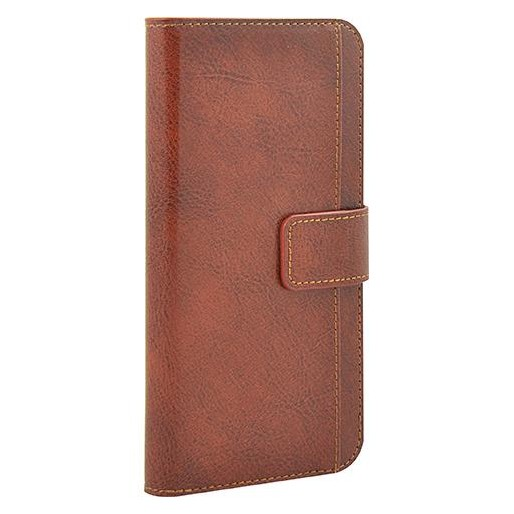3SIXT 3SIXT Premium Leather Folio Wallet - iPhone 6 plus/6s plus - Tan