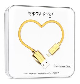 Happy Plugs Happy Plugs Lightning to USB Gold