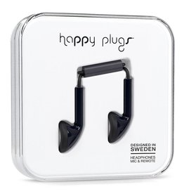 Happy Plugs Happy Plugs Earbud Black