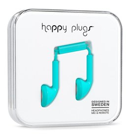 Happy Plugs Happy Plugs Earbud Turquiose