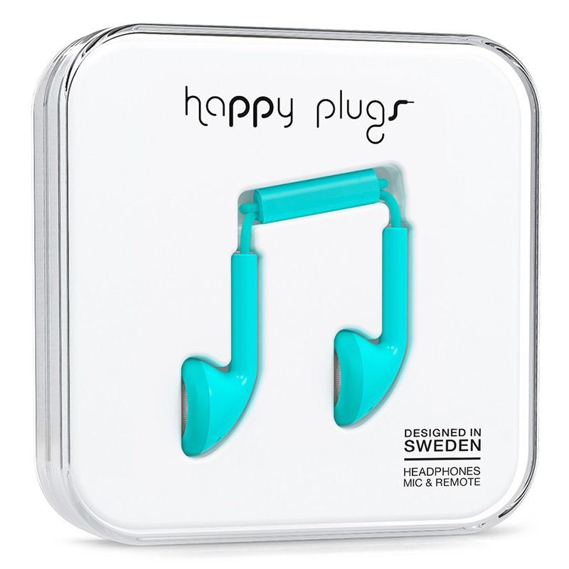 Happy Plugs Happy Plugs Earbud Turquiose