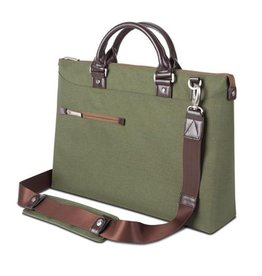 Moshi Moshi Urbana Briefcase for 13-15 laptops + iPad compartment Forest  Green