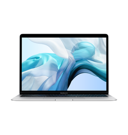 Apple MacBook Air 13in Silver 1.6GHz dual-core 8th-gen i5 / 8GB Ram / 128GB SSD Storage