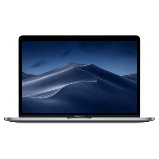 Apple 13-inch MacBook Pro - Space Grey - 1.4GHz quad-core 8th-gen i5 / 256GB / 8GB RAM / Iris Plus 645