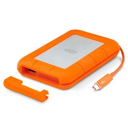 "Lacie LaCie Rugged 2.5"" 4ft Drop Resistant 2TB Thunderbolt/USB3.0"