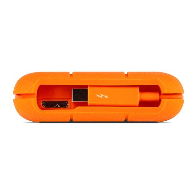 Lacie LaCie 2TB HD Rugged Thunderbolt™ Professional All-Terrain Storage Thunderbolt | USB 3.0