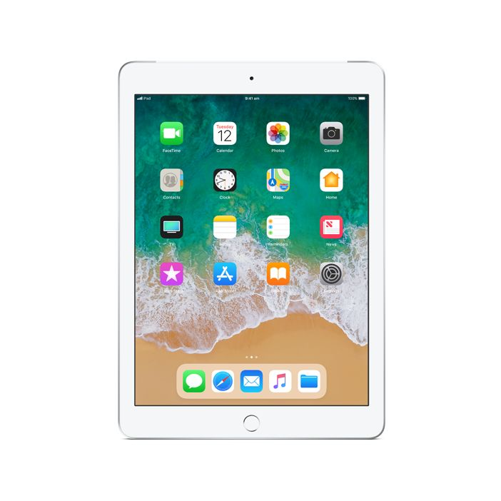 Apple iPad Wi-Fi + Cellular 128GB - Silver