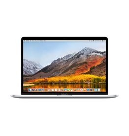 Apple 15-inch MacBook Pro with Touch Bar - Silver 2.6GHz 6-core  i7 / 512GB / 16GB RAM / Radeon Pro 560X 4GB - Silver
