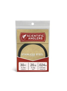 Scientific Anglers SCIENTIFIC ANGLERS STAINLESS BLACK PREDATOR WIRE