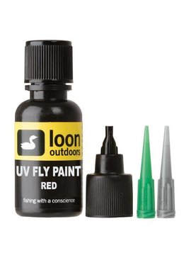 Loon Outdoors Loon Uv Fly Paint Red