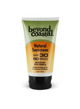 Beyond Costal BEYOND COASTAL NATURAL SPF 30 4 OZ.