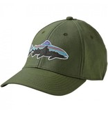 Patagonia PATAGONIA FITZ ROY TROUT STRETCH FIT HAT BUFFALO GREEN L/XL