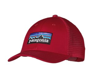 746198c03e7 PATAGONIA P-6 LOPRO TRUCKER HAT CLASSIC RED OSFA - Ugly Bug Fly Shop