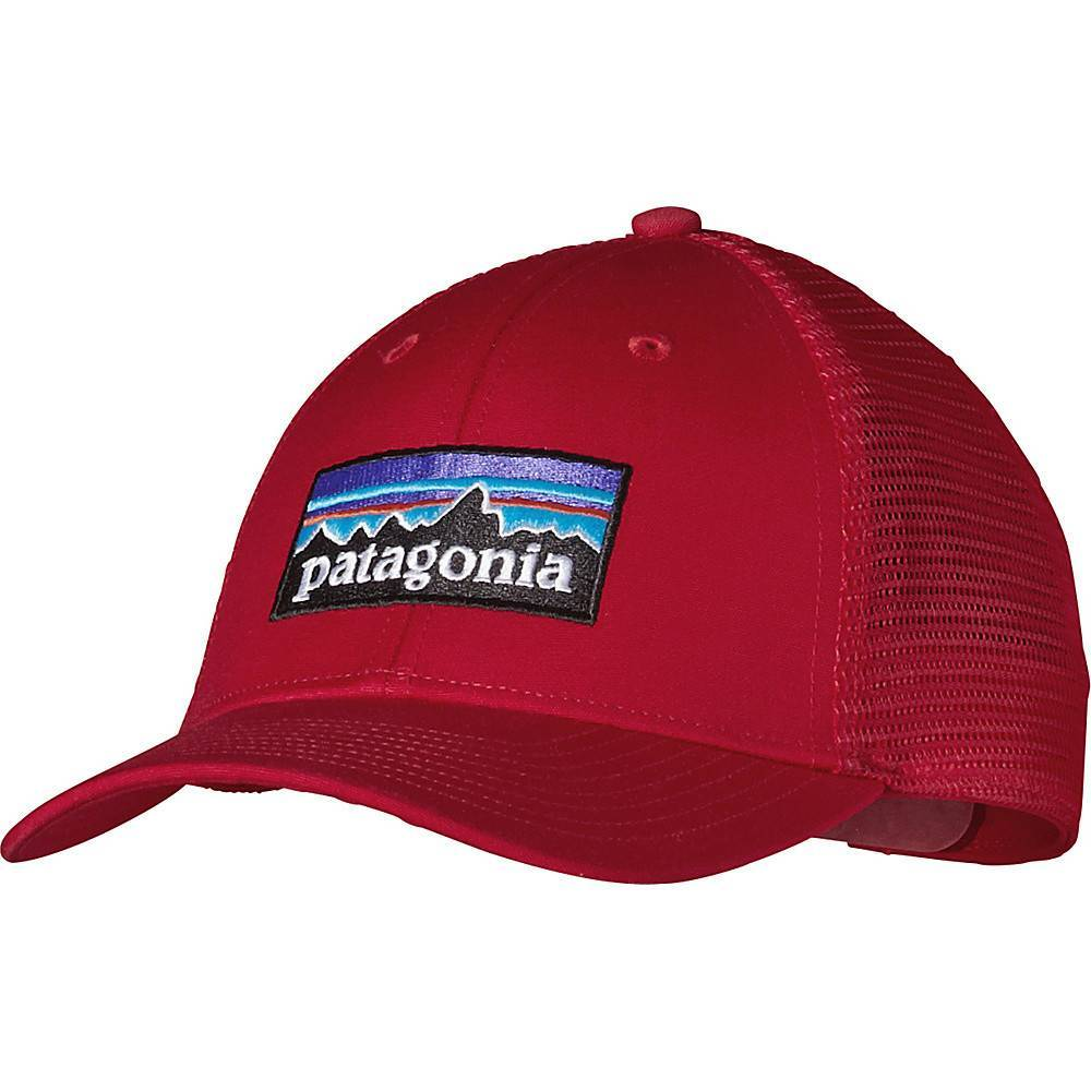 f6807f25cb5 PATAGONIA P-6 LOPRO TRUCKER HAT CLASSIC RED OSFA - Ugly Bug Fly Shop