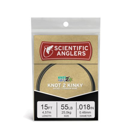 Scientific Anglers Scientific Anglers Knot 2 Kinky Nickel Titanium Wire 15ft