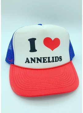 Ugly Bug Fly Shop I LOVE ANNELIDS HAT