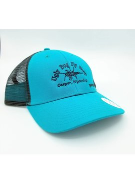 Patagonia PATAGONIA SMALL TEXT UGLY BUG LOPRO TRUCKER HAT TRUE TEAL