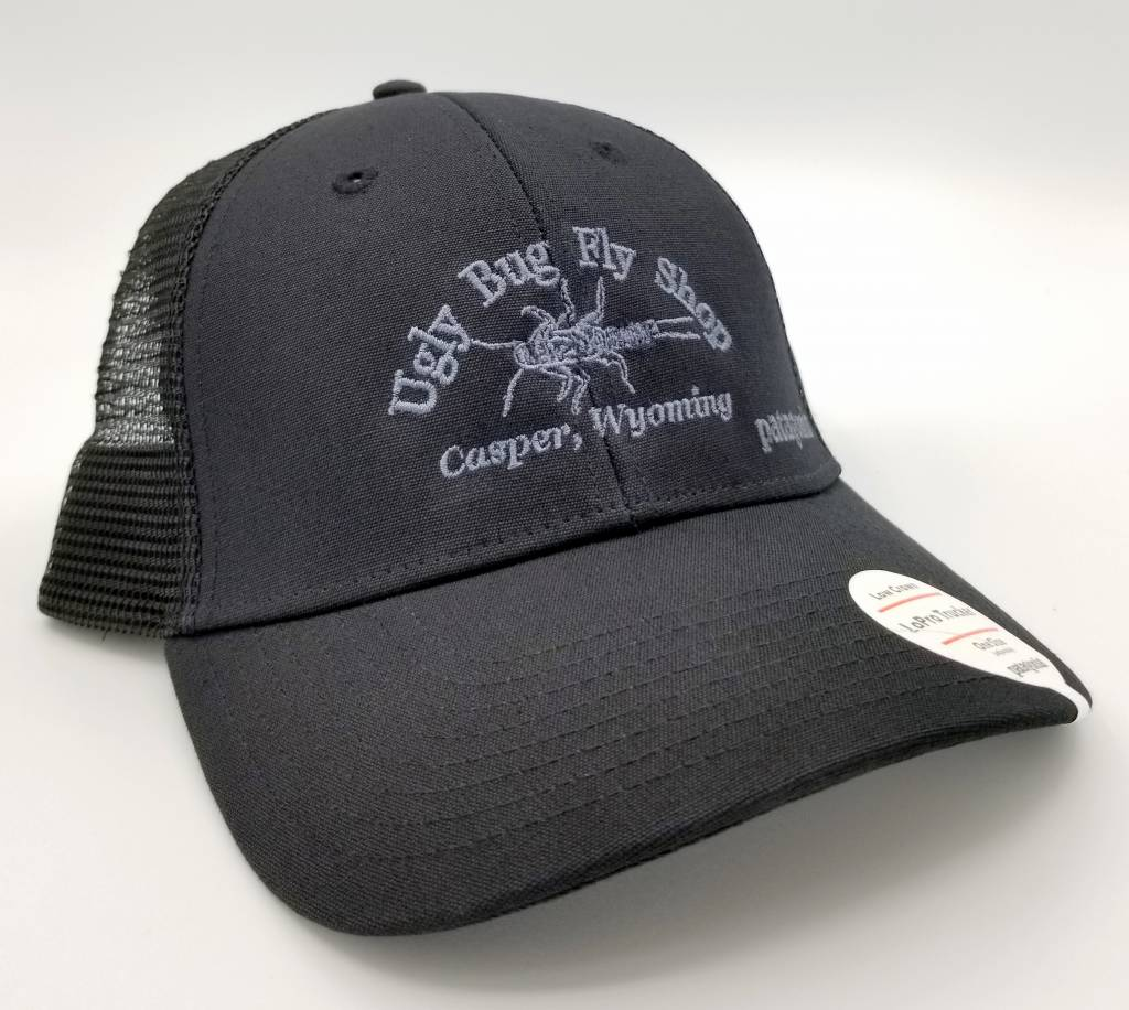 0e411d4ecde PATAGONIA SMALL TEXT UGLY BUG LOPRO TRUCKER HAT - Ugly Bug Fly Shop