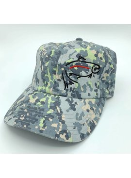 Simms Fishing Products SIMMS CBP SINGLE HAUL CRAZY RAINBOW LOGO CAP
