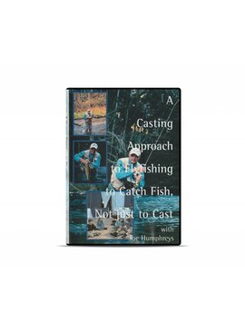 Angler's Book Supply A CASTING APPROACH TO FLY FISHING TO CATCH FISH, NOT JUST TO CAST DVD