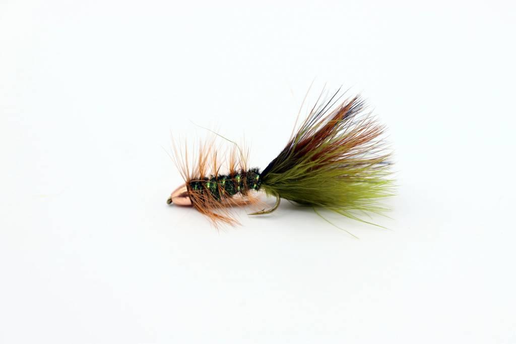 Dream Cast Fly Fishing BOB'S THIN MINT BUGGER TUNGSTEN