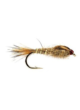 Solitude Fly Company Hares Ear No Bead Gold Rib