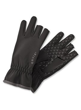 Orvis Company ORVIS SOFTSHELL FINGERLESS GLOVES