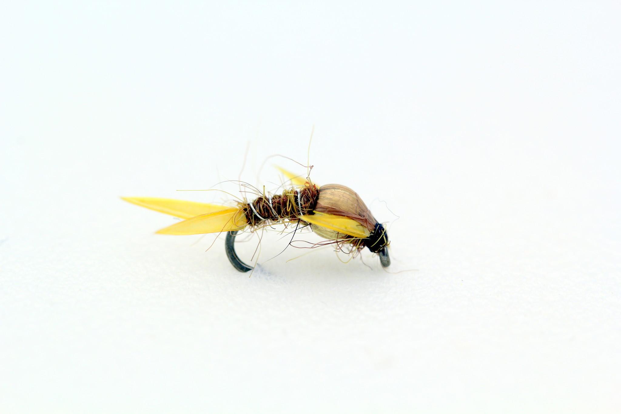 Solitude Fly Company Amber Stone